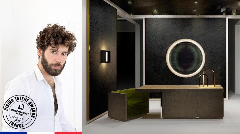 Adrien Garcia, инсталляция для Maison Objet 2020 (фотограф AG)